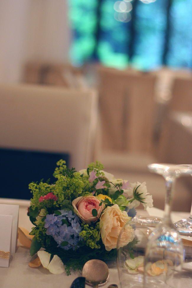 日比谷パレス様の装花