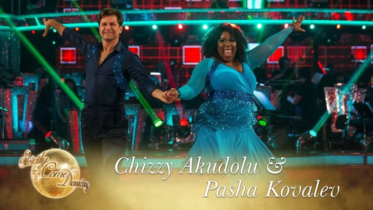 Chizzy Akudolu and Pasha Kovalev Cha Cha to 'Boogie Fever' by The Sylvers