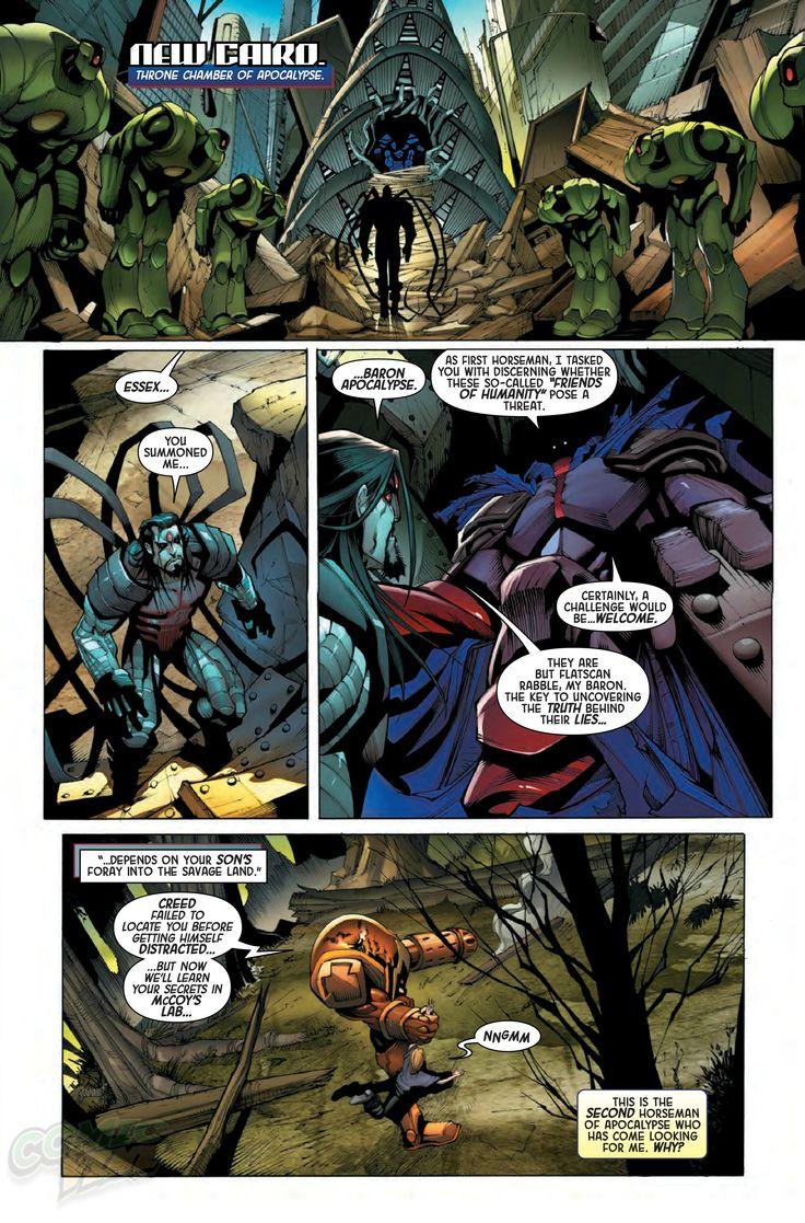 Exclusive Preview: AGE OF APOCALYPSE #1 - Comic Vine
