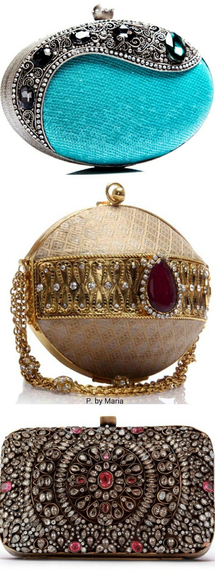 Fashion Accessories | Clutches | Rosamaria G Frangini || Meera Mahadevia | Clutch Bags