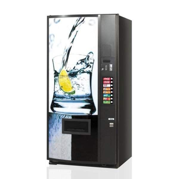 Distributore automatico per lattine cocacola/fanta ed acqua