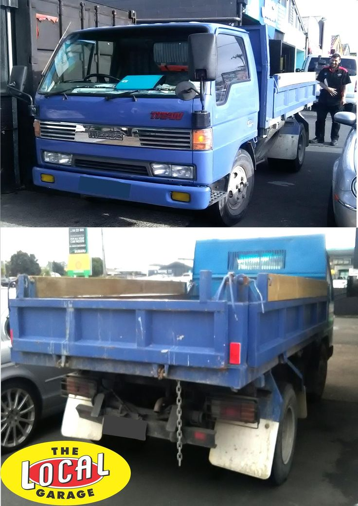 We do trucks to at The Local Garage Auckland