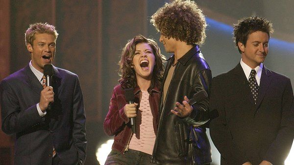 A Fond (No, Really!) Farewell To 'American Idol'  Kelly Clarkson won the first season of American Idol in September 2002 over Justin Guarini, in front of co-hosts Ryan Seacrest and Brian Dunkleman, who almost looks aware that this would be his only season.