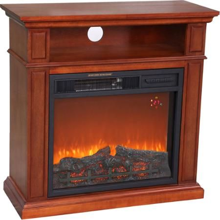 1500W Hearth Trends Small Media Infrared Fireplace - Walmart.com