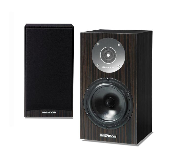 Spendor D1 - dark ebony . The new Spendor D1 is the smallest loudspeaker in the D-line and a worthy successor to the award winning SA1. Listeners will be captivated by it's charming sound, surprised by it's clarity and definition, assured by performance and engineering of the highest order, and delighted by luxurious modern finishes.