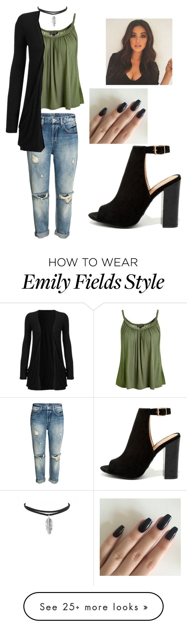 """Emily Fields!!"" by fashionguy98 on Polyvore featuring Bamboo and Topshop"