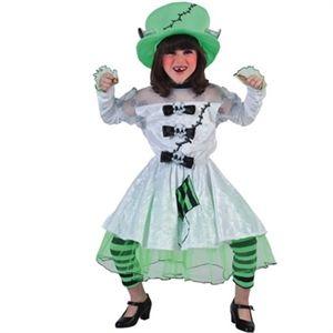 frankensteins brud | Billige børne kostumer til Halloween. Online #halloween #kostumer