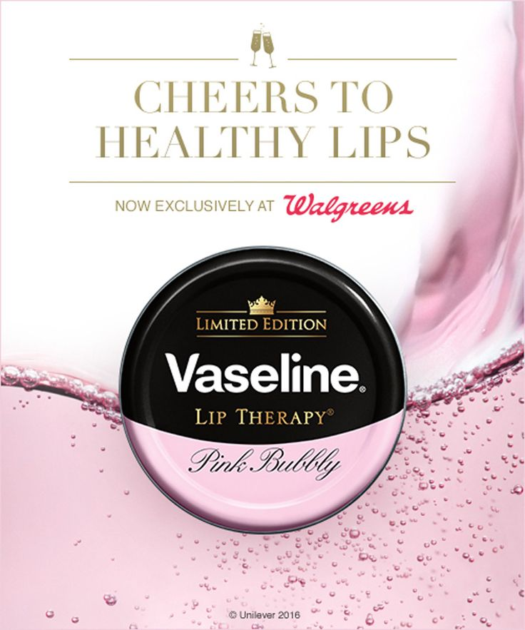 Currently obsessed vaseline lip therapy in pink bubbly