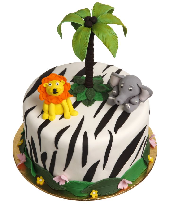 Jungle Cake for a course