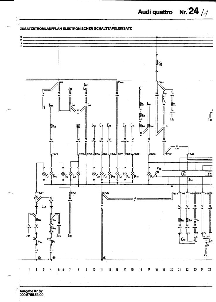 Quattro Wiring Diagram  With Images