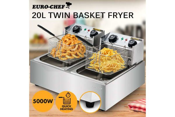 20L 5000W Electric Deep Fryer - Kogan.com