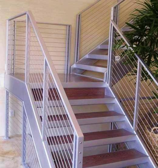 7 Ultra Modern Staircases: 33 Best Commercial Cable Railing Images On Pinterest