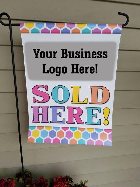 LLR sign Flag Boutique Flag Personalized Flag LLR Garden