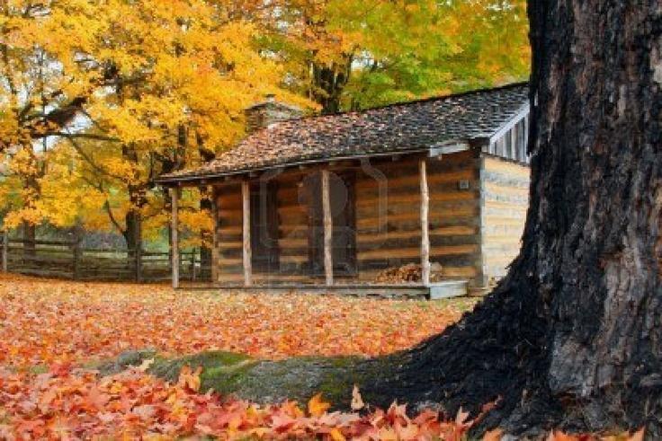 Old cabin-Grayson Highlands State Park, VA