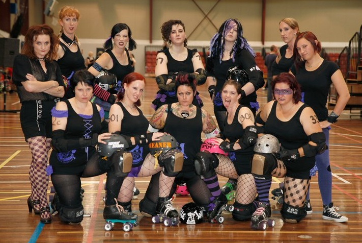 Cutthroat Charmers (SSRD home team) 2011 - my first game.