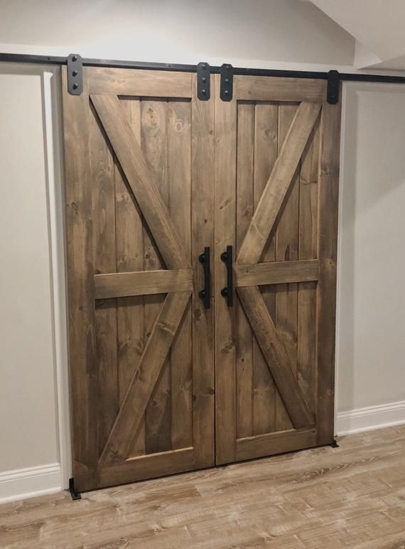 Farmhouse Barn Door Barn Door Decor Barn Doors Sliding