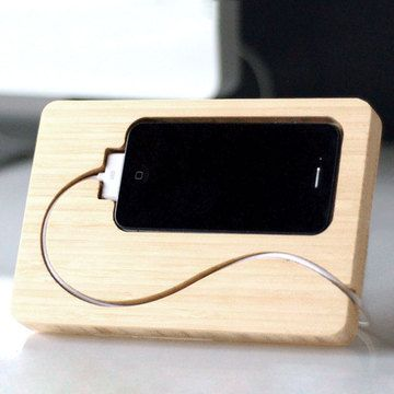 Chisel iPhone 4/4S Dock, $32, now featured on Fab.