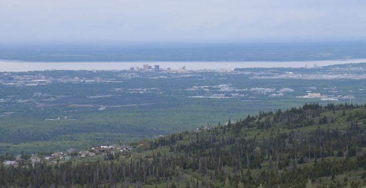 Alaska 03 - stürmisch hoch hinaus, Besteigung Flattop Mountain, Anchorage - Reiseblog * das-Chrisha