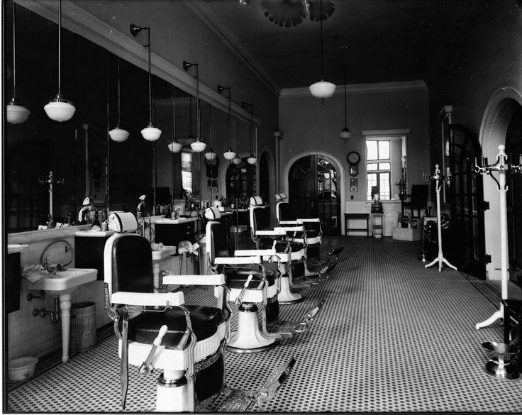 San Carlos Hotel barber shop, Pensacola