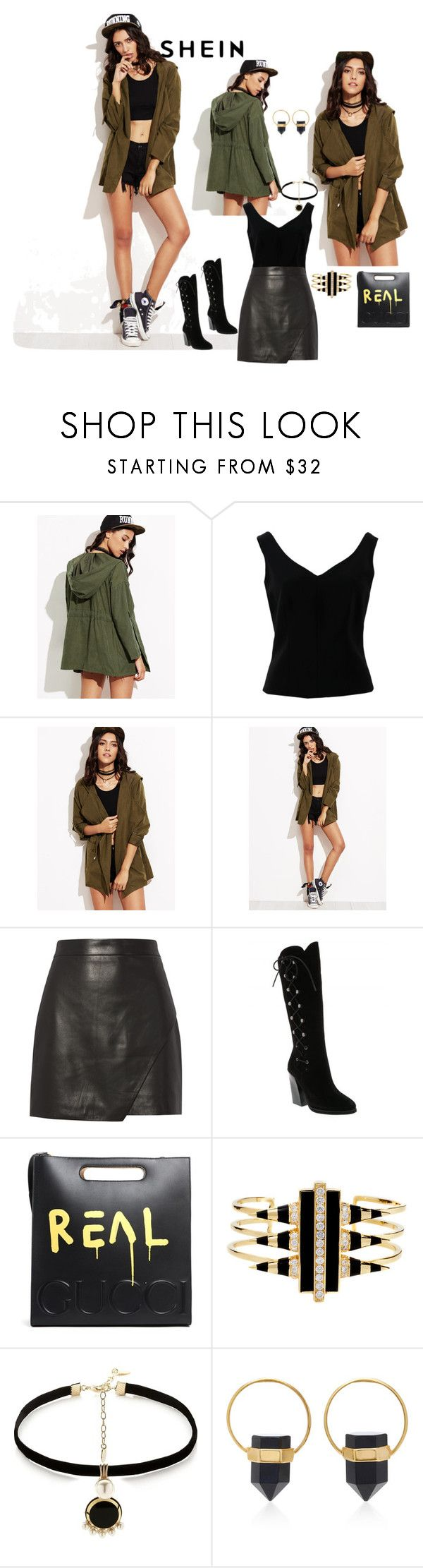 """Untitled #791"" by skatiemae ❤ liked on Polyvore featuring ADAM, Michelle Mason, Gucci, Noir Jewelry, Anton Heunis and Isabel Marant"