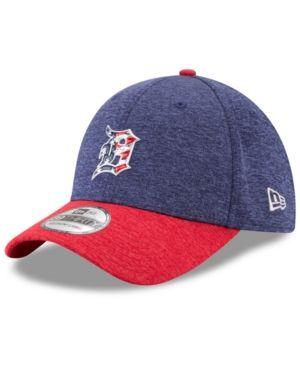 New Era Detroit Tigers Stars & Stripes 39THIRTY Cap - Red/Navy S/M