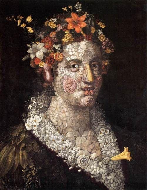 FLORA - GIUSEPPE ARCIMBOLDO, C. 1591
