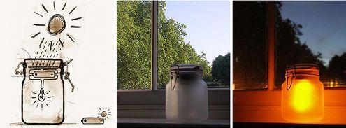 Conservare il #sole in un #barattolo e utilizzarlo durante la notte?  #SunJar è la #eco-lampada ad #energiasolare del designer canadese #TobiasWong per la #SuckUK. Grazie ad un sensore intelligente, il nostro barattolo si illumina automaticamente all'imbrunire.    #Energie alternative su @marraiafura