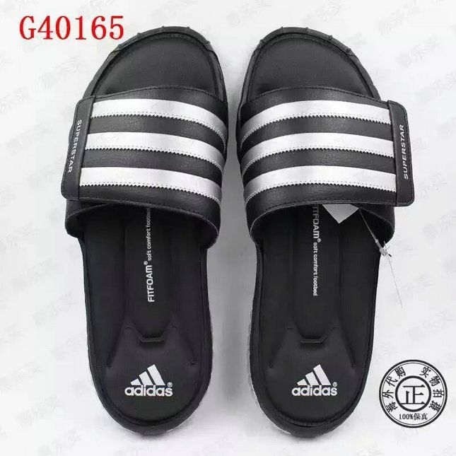 f8fb6b6f6188 2018-2019 Summer Authentic Official unisex adidas Superstar 5G Slides black