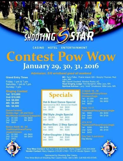 Shooting Star Casino Entertainment Contest Pow Wow