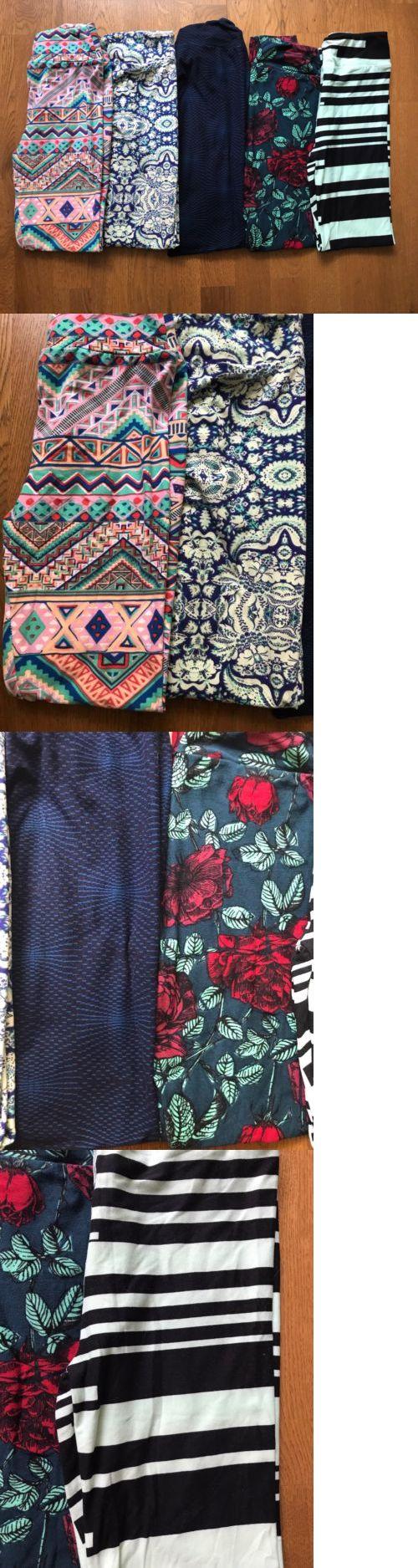Leggings 152719: Tween Lularoe Leggings - Lot Of 5 -> BUY IT NOW ONLY: $80 on eBay!