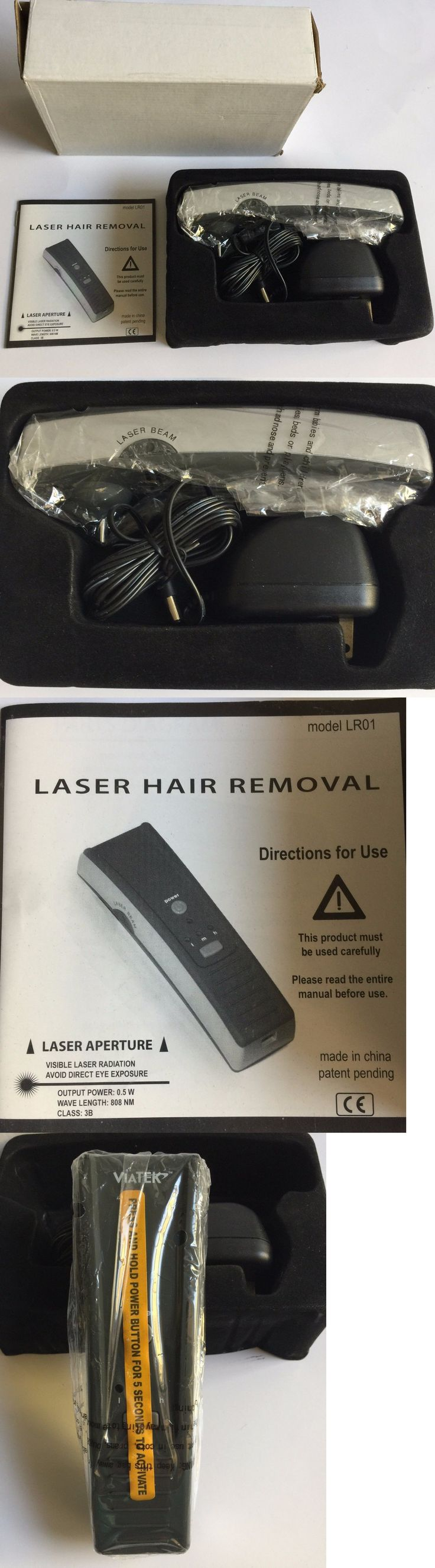 Laser Hair Removal and IPL: Viatek Laser Hair Removal System Brand New In Box -> BUY IT NOW ONLY: $114.0 on eBay!