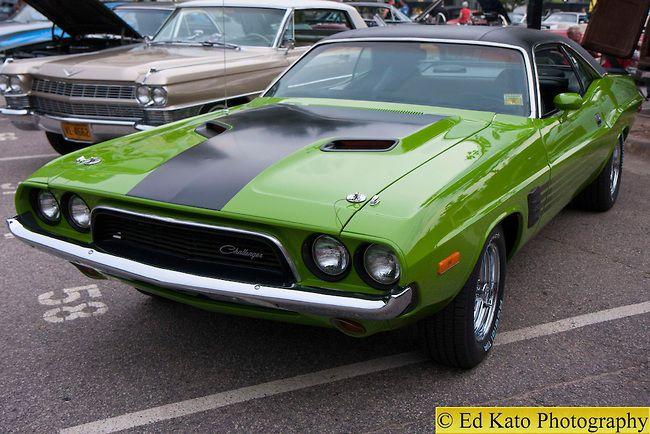 1969 Dodge Challenger | Dodge Challenger 1969 Green Awtmk.jpg | Ed Kato Photography