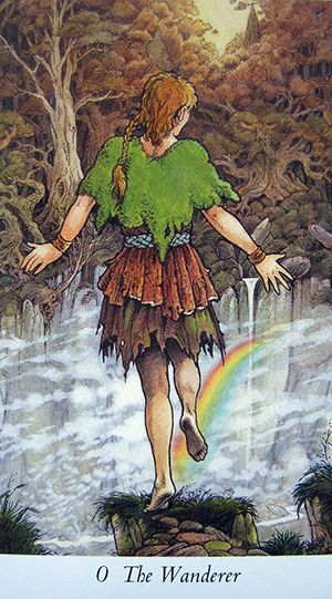 Free Daily Tarotscope — Nov 16, 2014 — The Wanderer -- Venus enters Sagittarius today, bringing with it the potential for a renewed love (Venus) of travel, adventure and personal expansion. The Wanderer card (the Fool, in traditional decks) fits in beautifully with this dynamic, as it relates to being open to new experiences without regard for where they may ultimately lead.