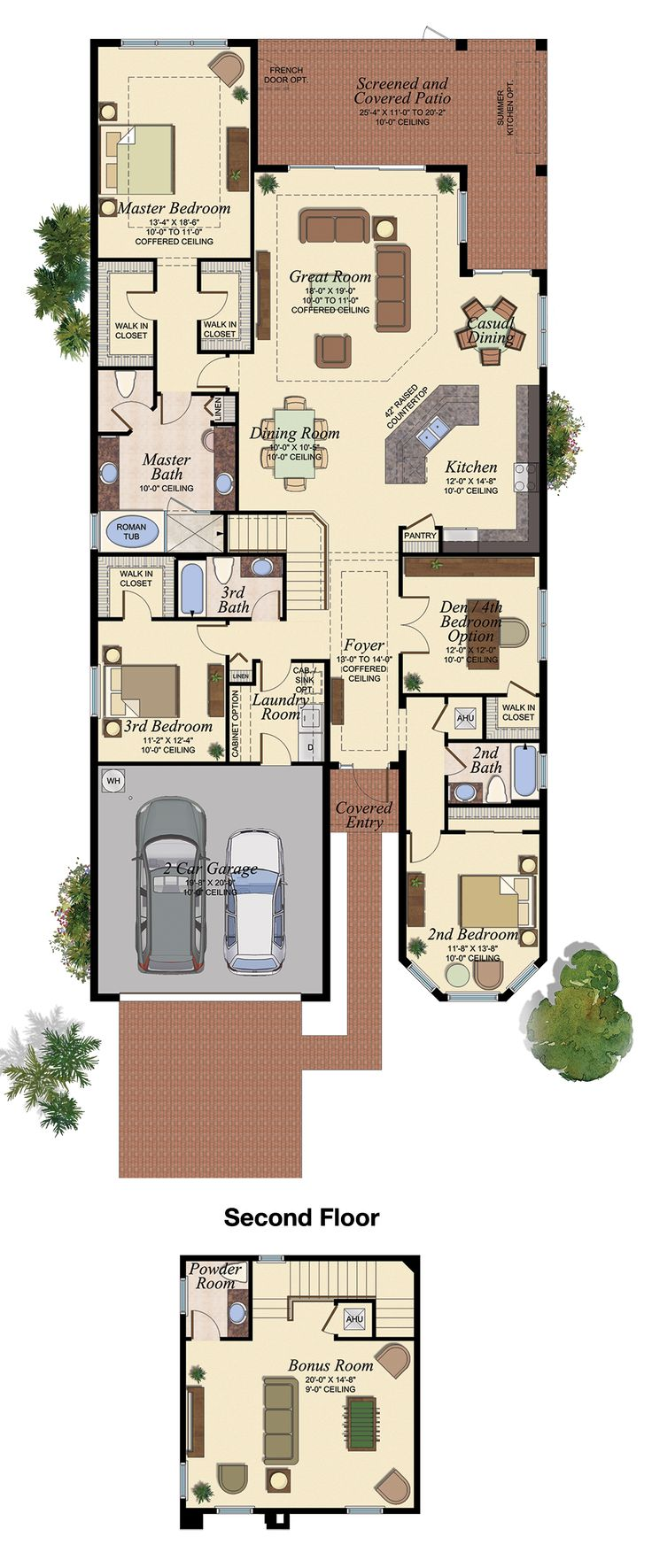 CHANDON GRANDE/512 Floor Plan (Large View)