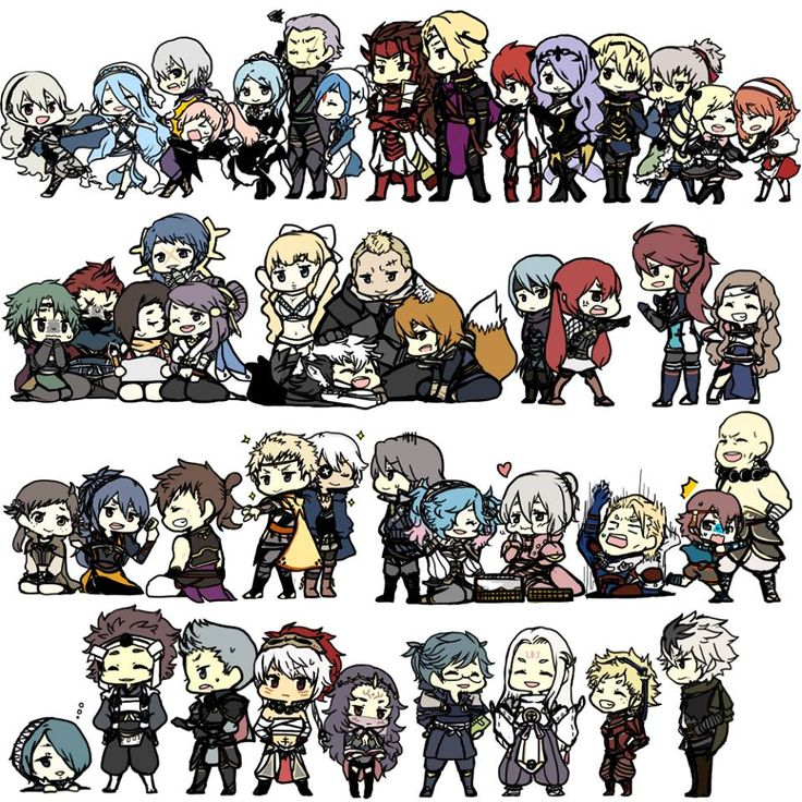 Fire Emblem: if/Fates <<<< just look at Setsuna and Arthur xD