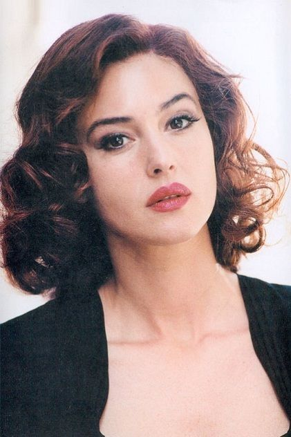 Monica Bellucci- dark red hair