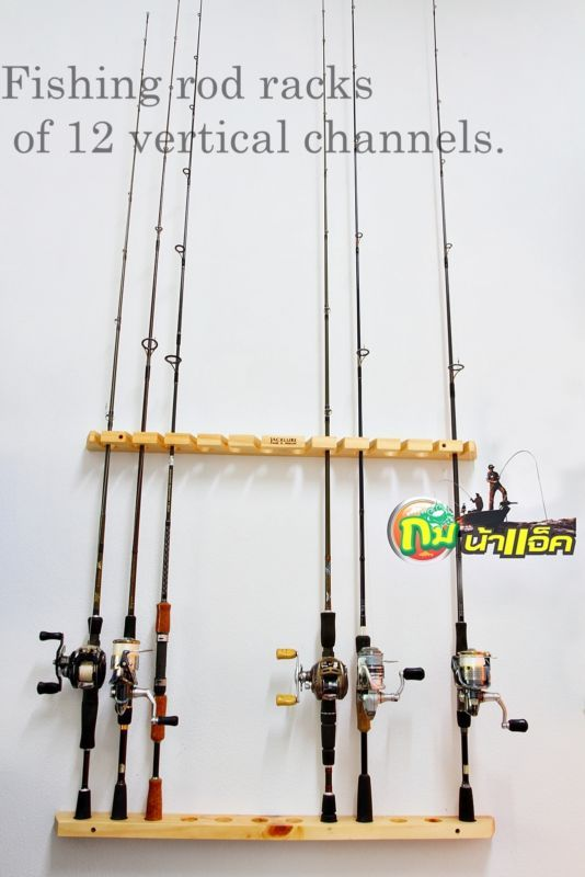 1000 ideas about rod rack on pinterest wood worker for Types of fishing poles