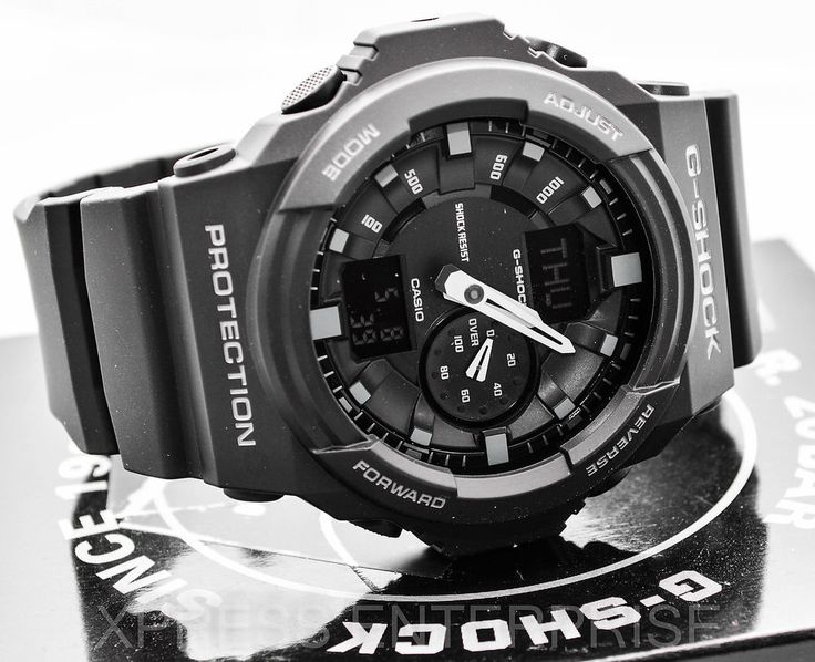 NEW Casio GSHOCK XLarge LIMITED BLACK Matte GA150-1A Watch NWT
