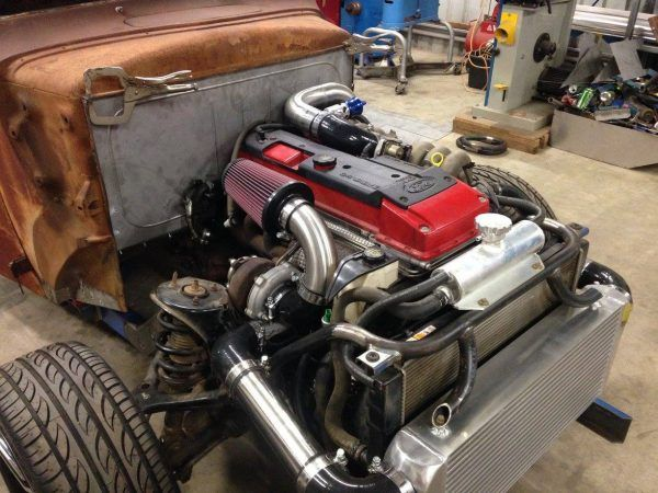 1942 Ford Rat Rod Truck with a Turbo Barra Inline-Six