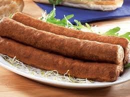 Frikandel a typical Dutch snack