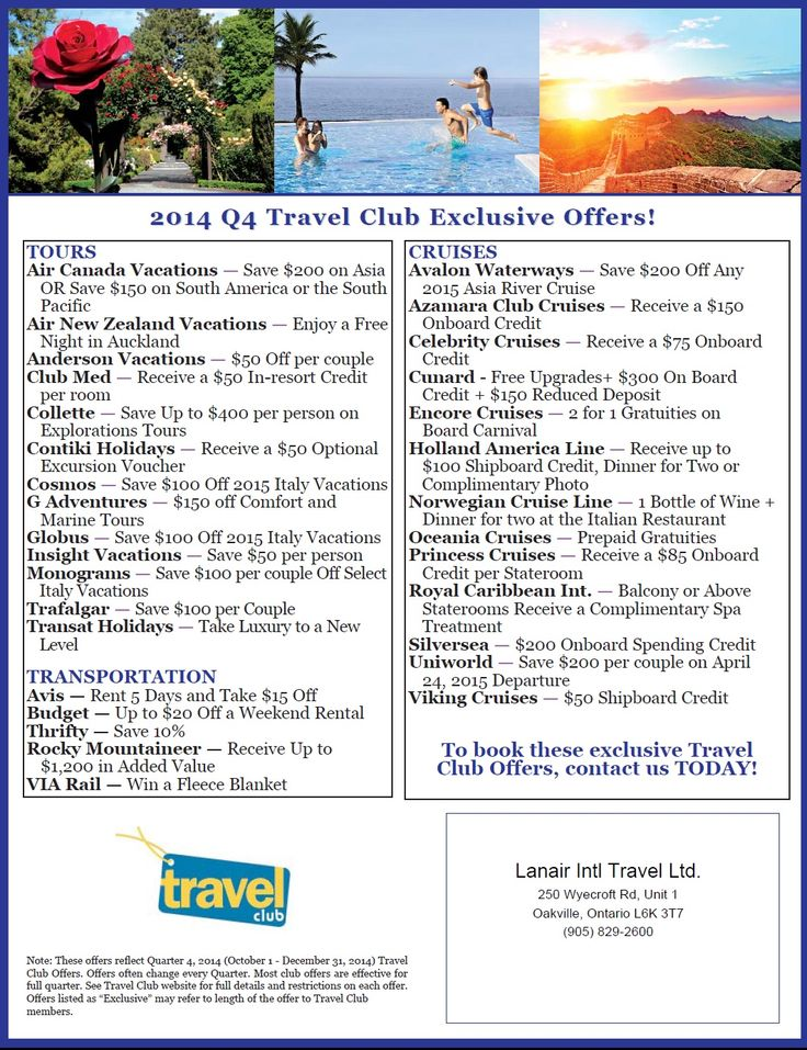 #travelsavers #traveldeals #travel #october #november #december #tour #cruise #trip #holiday #vacation
