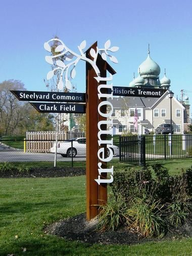 Tremont Gateway Sign - with Tremont Pointe in the background.JPG
