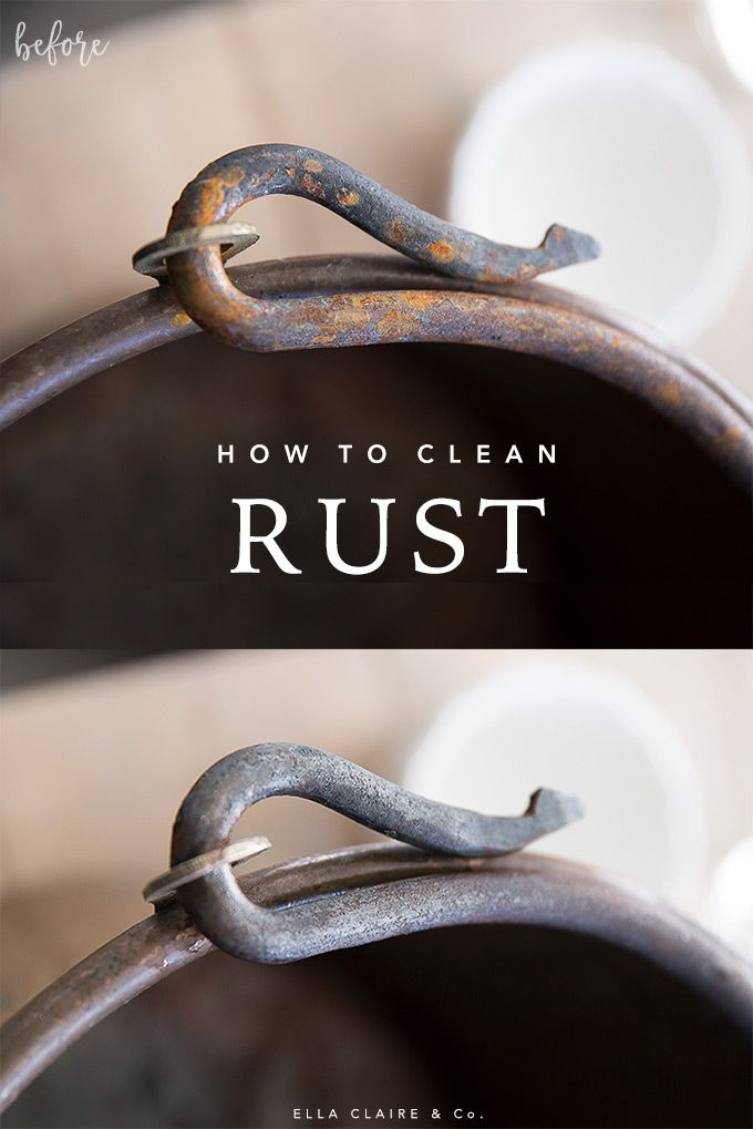 How To Remove Rust With From Metal And Tools Diy Electrolysis