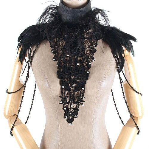 Black Feathers Neck
