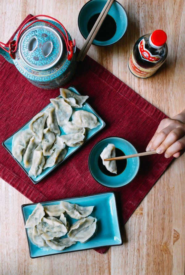 Pork Chive Dumplings are one of the most traditional dumpling types you'll find in China. Chinese chives, also called garlic chives, are readily available at most Asian grocery stores.