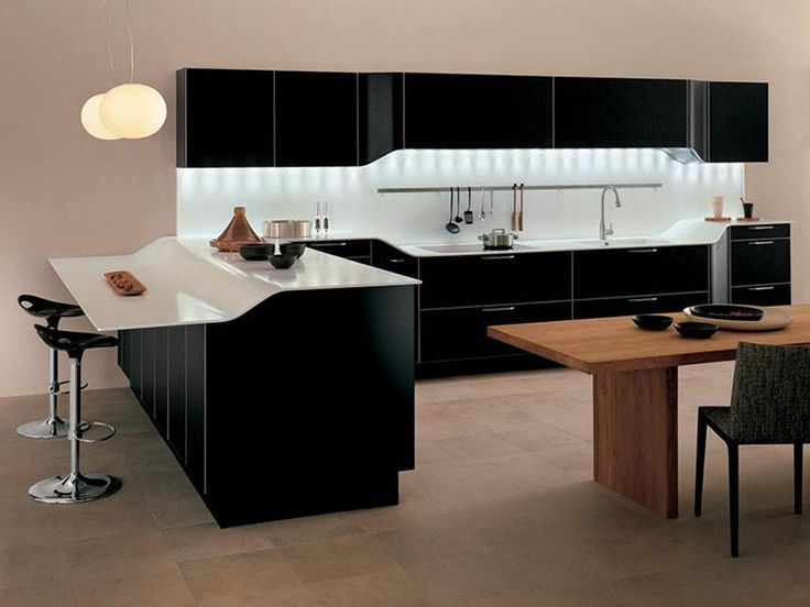 Modern White And Black Kitchens 26 best modern kitchen designs & ideas images on pinterest