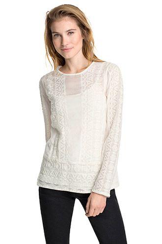 Esprit / lace blouse