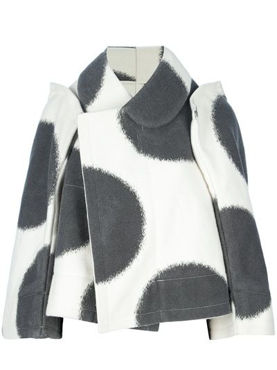 COMME DES GARÇONS - cropped contrast jacket 6