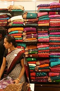 Saree shop in Bangalore