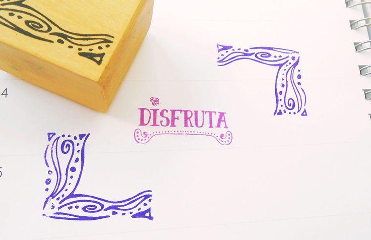 LAMUSILÁ Sellos de madera coleccionables para decorar y personalizar objetos. http://charliechoices.com/lamusila/